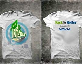 #13 untuk Design a T-Shirt for THE INTERN BUSINESS REALITY SHOW oleh reblien
