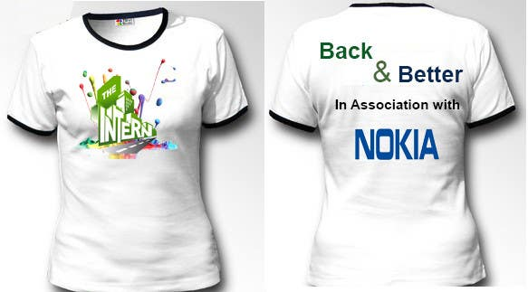 #18 for Design a T-Shirt for THE INTERN BUSINESS REALITY SHOW by cyber3c