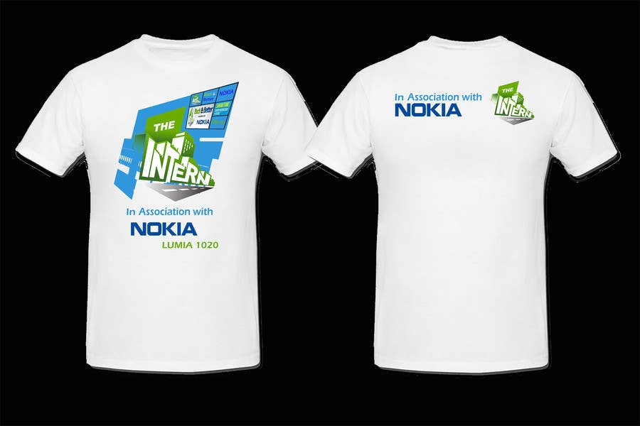 #19 for Design a T-Shirt for THE INTERN BUSINESS REALITY SHOW by cdinesh008