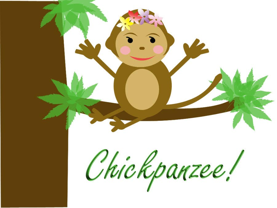 Penyertaan Peraduan #43 untuk Cute Monkey Design