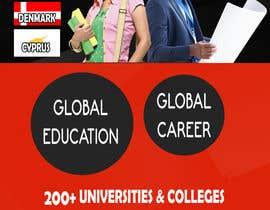 Nro 8 kilpailuun Design a Banner for an overseas education and immigration company käyttäjältä Shubham102