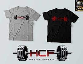 Nro 16 kilpailuun Badass HCF tshirt design käyttäjältä antonioriveroccs