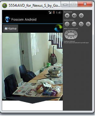 Entry #1 by asifali0869 for Ip Foscam Camera live feed in Android