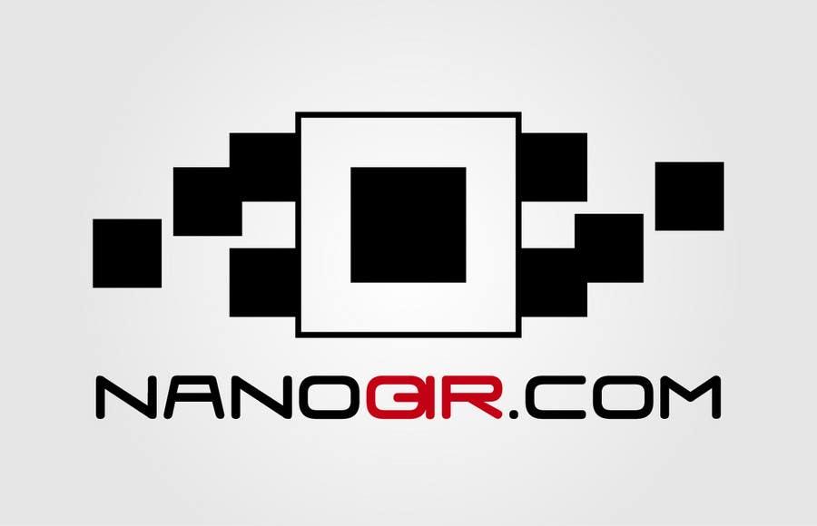 Kilpailutyö #                                        54                                      kilpailussa                                         Logo Design for NanoQR LLC, Paris