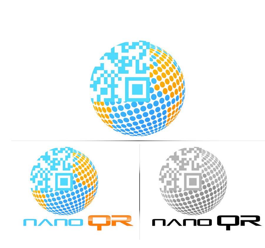 Kilpailutyö #                                        22                                      kilpailussa                                         Logo Design for NanoQR LLC, Paris