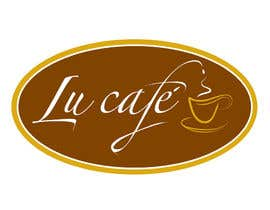 #129 para Logo Design for lu cafe por paulamurphy