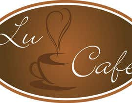 #324 para Logo Design for lu cafe por MihaiSincan