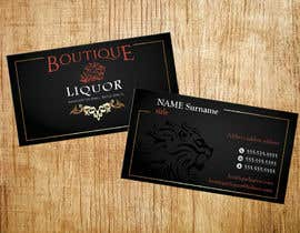 #136 cho Design some Business Cards for Boutique liquor bởi Emanuella13