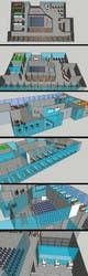 Imej kecil Penyertaan Peraduan #13 untuk Architectural Floorplan Layout for PolarPointe Business Cafe