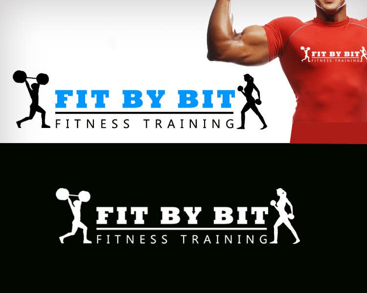 Konkurrenceindlæg #93 for Logo design for Fit By Bit personal and group fitness training