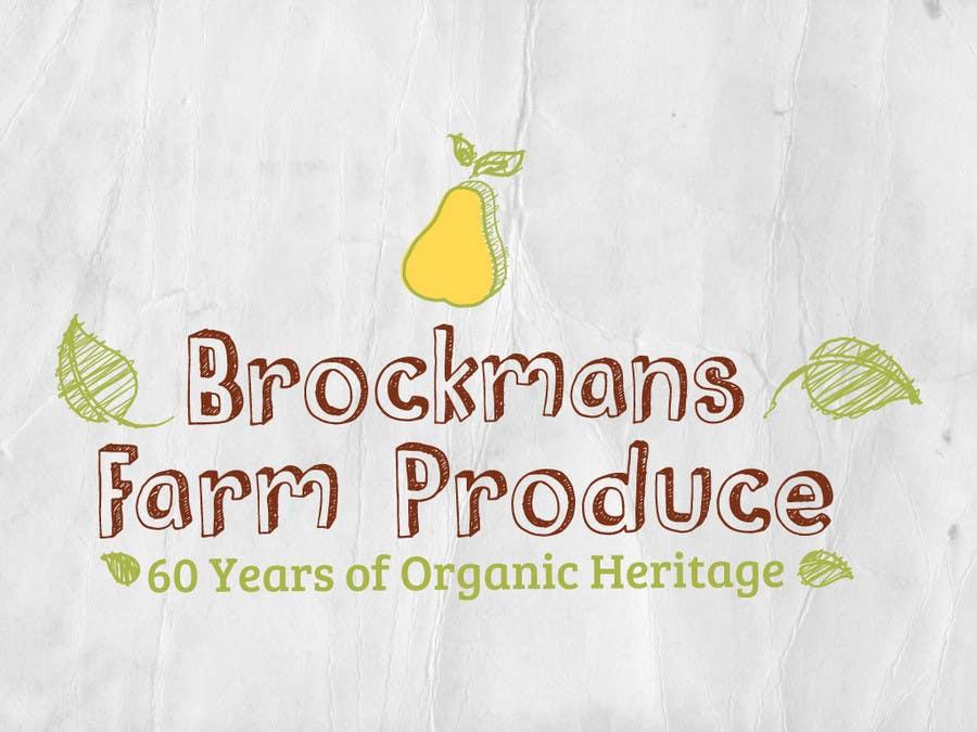 #132 for Design a Logo for an Organic Farm by SzalaiMike