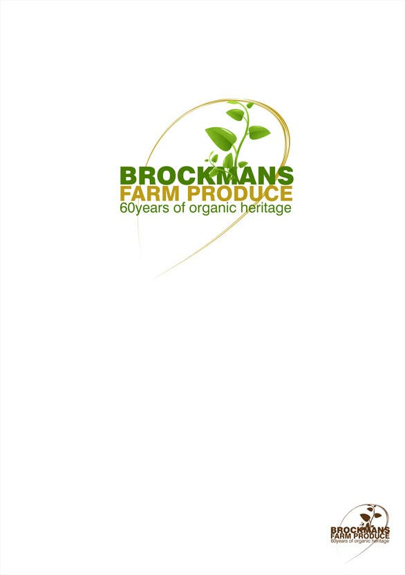 #29 for Design a Logo for an Organic Farm by Prettylights