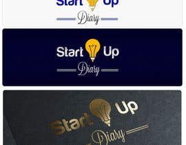 #65 for Urgent: Design a Logo for Startup Diary blog by tanasalexandru