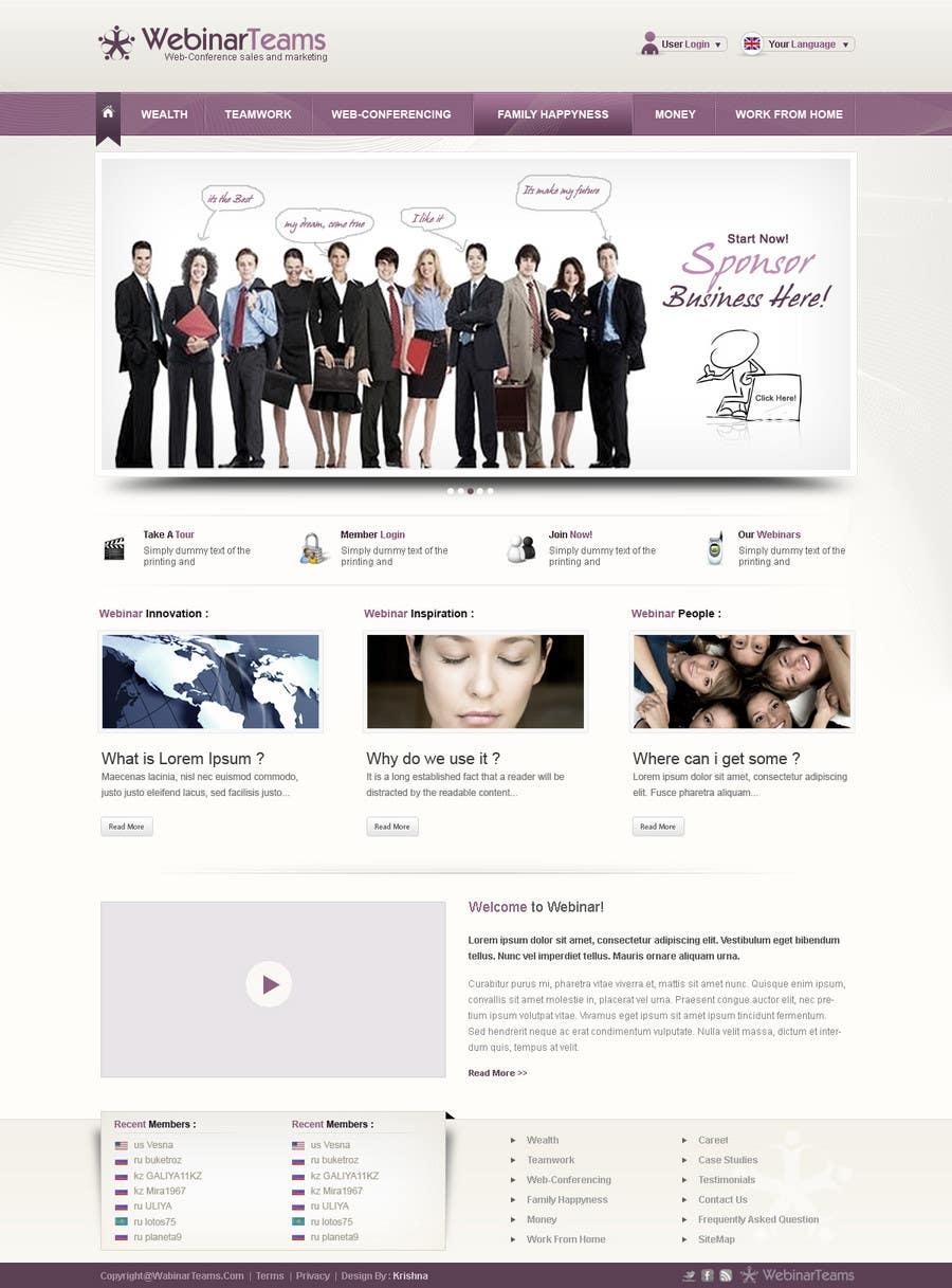 Proposition n°26 du concours Website Design for WebinarCompany