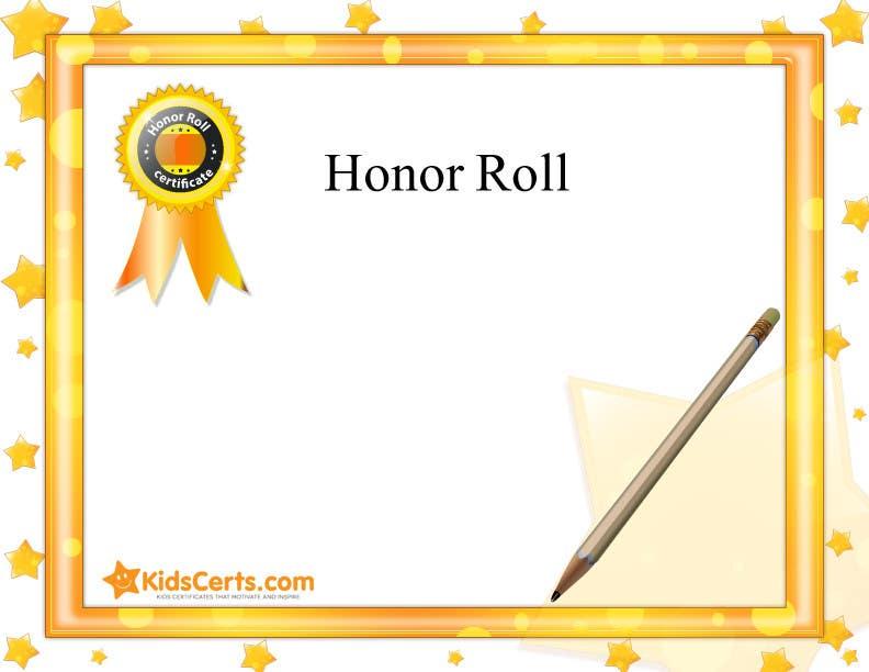 entry 7 by taseerid for children s award certificate design need