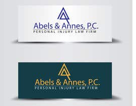 #125 for Logo design for a personal injury law firm af zainulbarkat