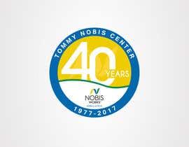 Nro 190 kilpailuun 40th Anniversary Logo käyttäjältä vkdykohc