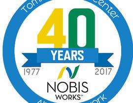 Nro 197 kilpailuun 40th Anniversary Logo käyttäjältä shushant43