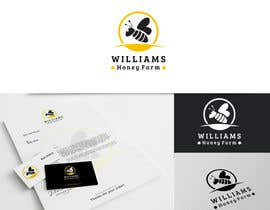 #87 para Design a Logo for Williams Honey Farm por crossartdesign