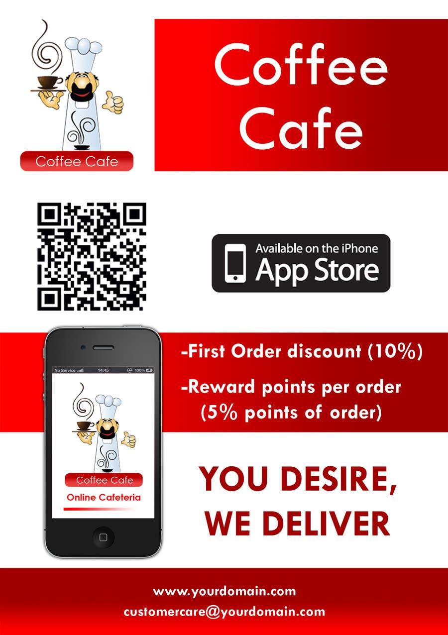 Bài tham dự cuộc thi #19 cho Design a Brochure for Restaurants (iPhone App & Website Ordering)