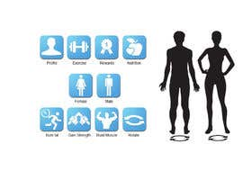 dreamstudios0 tarafından Design some Icons for a fitness app - repost için no 12