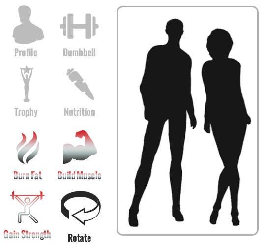 Penyertaan Peraduan #8 untuk Design some Icons for a fitness app - repost