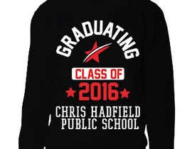 Nro 16 kilpailuun Design a T-Shirt for 2016 Graduates käyttäjältä nobelahamed19