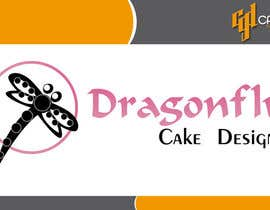 CasteloGD tarafından Design a Logo for Dragonfly Cake Design. 1/2 done already için no 19