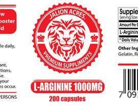 briangeneral tarafından Supplement Label Design için no 2