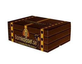 Nro 2 kilpailuun Design a cardboard box to look like a treasure chest. käyttäjältä eeyamms