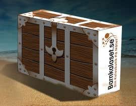 Nro 5 kilpailuun Design a cardboard box to look like a treasure chest. käyttäjältä ntandodlodlo