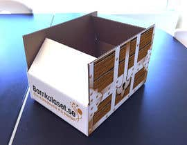 Nro 12 kilpailuun Design a cardboard box to look like a treasure chest. käyttäjältä ntandodlodlo