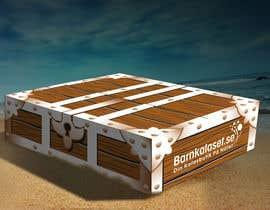 Nro 17 kilpailuun Design a cardboard box to look like a treasure chest. käyttäjältä ntandodlodlo