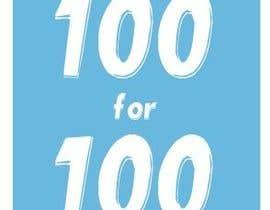 """Nro 47 kilpailuun Logo / Icon / Lapel Pin - """"100 for 100"""" käyttäjältä mishti7060"""