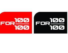 """Nro 53 kilpailuun Logo / Icon / Lapel Pin - """"100 for 100"""" käyttäjältä lgmihirangaperer"""