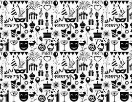 Nro 15 kilpailuun Design a background with party icons käyttäjältä winkeltriple