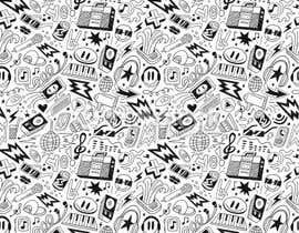Nro 14 kilpailuun Design a background with party icons käyttäjältä prow3bdesigner