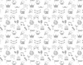 #12 for Design a background with party icons by ntandodlodlo