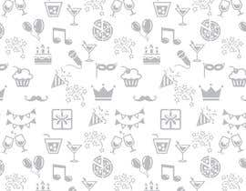 #18 for Design a background with party icons by ntandodlodlo
