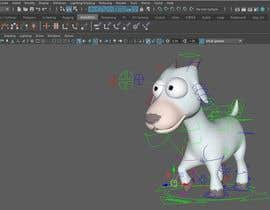kangian tarafından 3D Modelling and Animation of a Cartoon game character için no 14