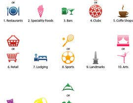 nº 4 pour Design some category icons for my iPhone app par Rendra5