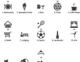 nº 5 pour Design some category icons for my iPhone app par Rendra5