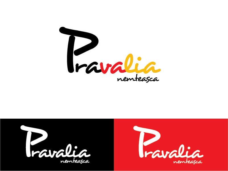 Kilpailutyö #22 kilpailussa Realizează un design de logo for Pravalia Nemteasca