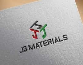 Nro 8 kilpailuun J3 Materials Logo käyttäjältä wahed14