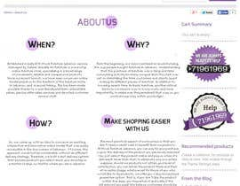 #7 para Creative and Talanted designs needed for Stock Furniture About US page. por agencja