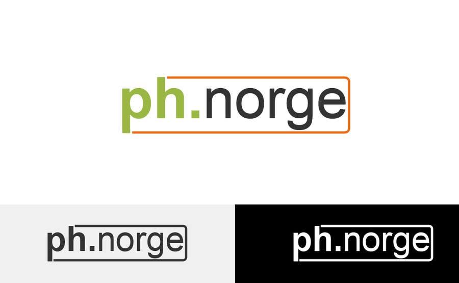 Kilpailutyö #15 kilpailussa Design a logo for PH Norge