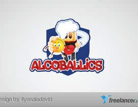 #37 para Design a Logo for Alcoballicks por liyonaladavid