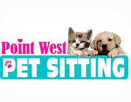 #646 for Logo Design for Point West Pet Sitting by tarakbr