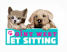 #684 untuk Logo Design for Point West Pet Sitting oleh tarakbr