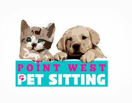 #644 for Logo Design for Point West Pet Sitting by tarakbr